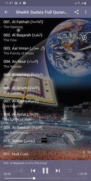 Al Sudais Full Quran Offline screenshot 17