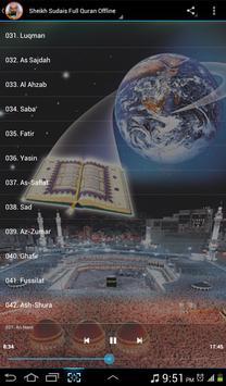 Al Sudais Full Quran Offline 截圖 5