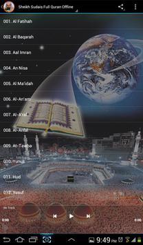 Al Sudais Full Quran Offline 截圖 8