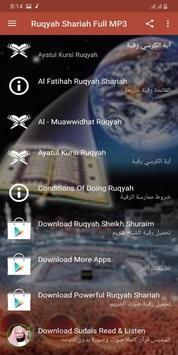 Ruqyah Shariah Full MP3 screenshot 12