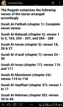 Ruqyah Shariah Full MP3 screenshot 10