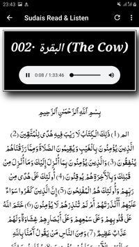 Sheikh Sudais Quran Read and Listen Offline screenshot 10