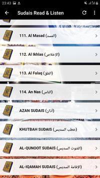 Sheikh Sudais Quran Read and Listen Offline screenshot 6