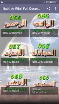 Nabil Ar Rifai Full Quran Offline Read and Listen poster