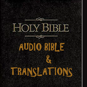 Bible- Audio and Text with Translations icon