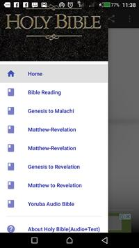 Bible- Audio and Text with Translations screenshot 2