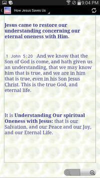 Oneness with Jesus screenshot 1
