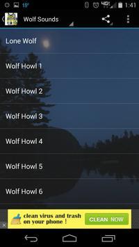 Wolf Sounds HD screenshot 1