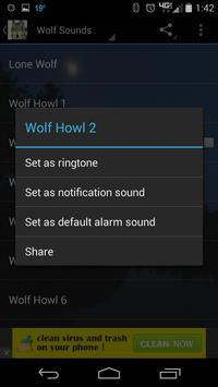 Wolf Sounds HD screenshot 2