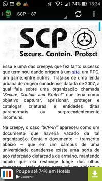 Creepypastas Em Português screenshot 1