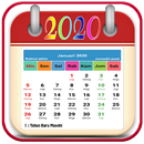 Kalender 2020 - Nasional, Jawa & Hijriyah APK Android