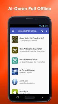 Al Quran MP3 (Full Offline) plakat