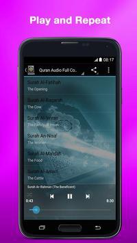 Al Quran MP3 (Full Offline) screenshot 1
