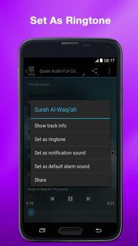 Al Quran MP3 (Full Offline) screenshot 6