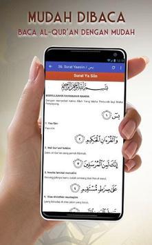 Al Quran Latin dan Terjemahan screenshot 2