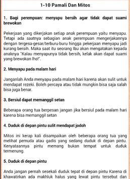 100 Mitos Dan Pamali poster