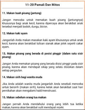 100 Mitos Dan Pamali screenshot 1