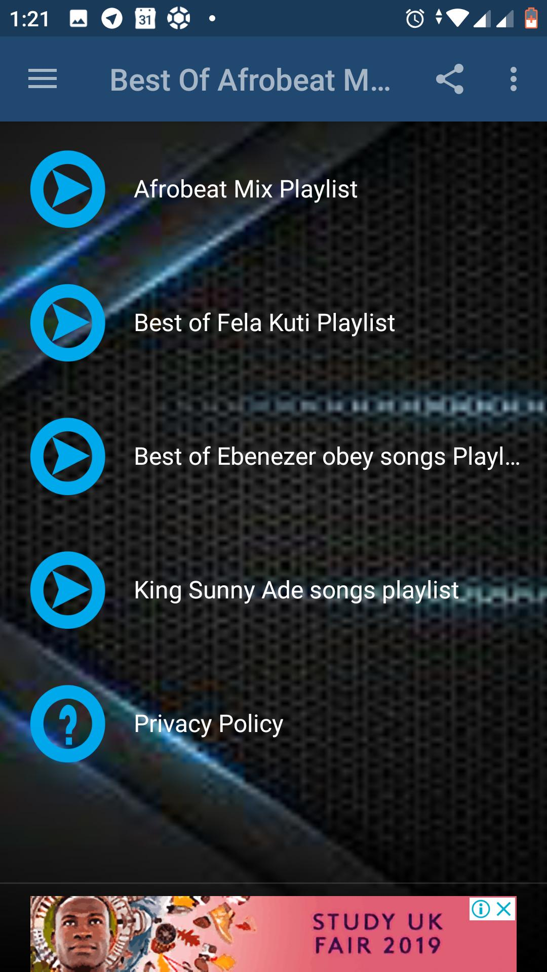 Best Afrobeat songs for Android - APK Download