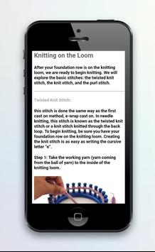 The Basics of Loom knitting screenshot 4