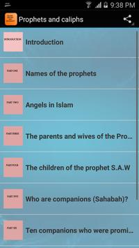 Prophets and caliphs poster