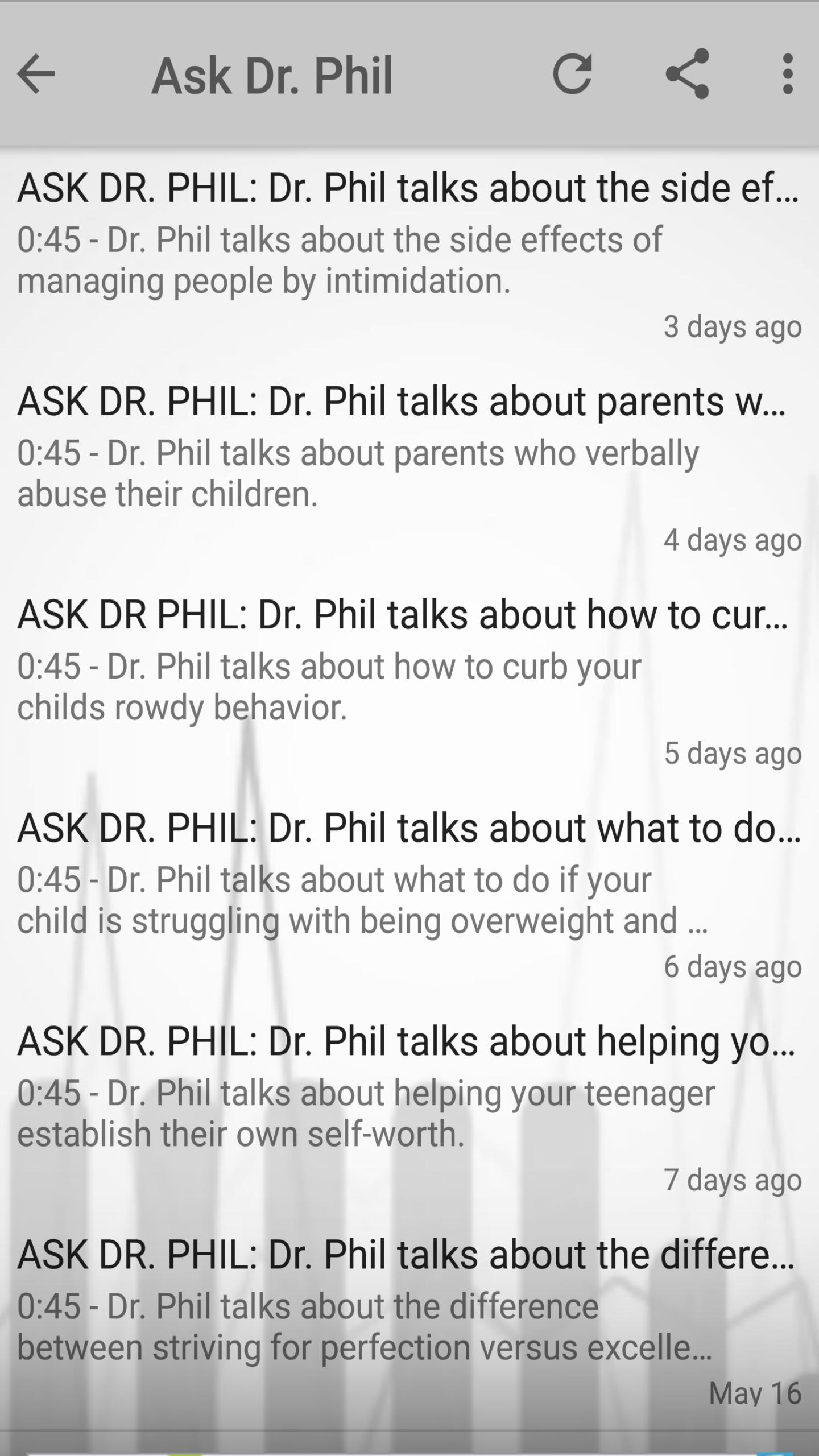Dr Phil Podcast, Daily Update for Android - APK Download