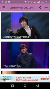 Joseph Prince Daily Devotional poster