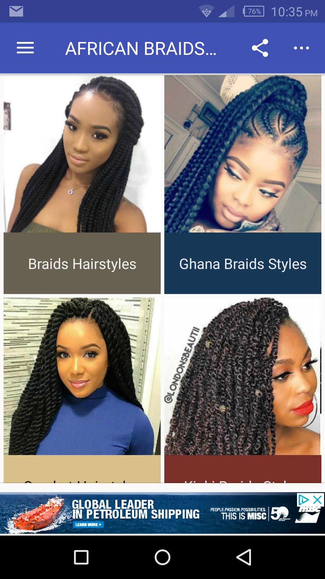 African Braids Hairstyles 50 for Android   APK Download