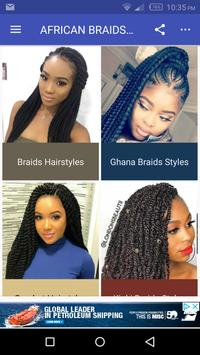 African Braids Hairstyles 2020 poster