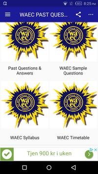 2019 WAEC Past Questions & Answers poster