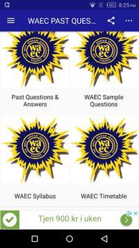 2019 WAEC Past Questions & Answers screenshot 4