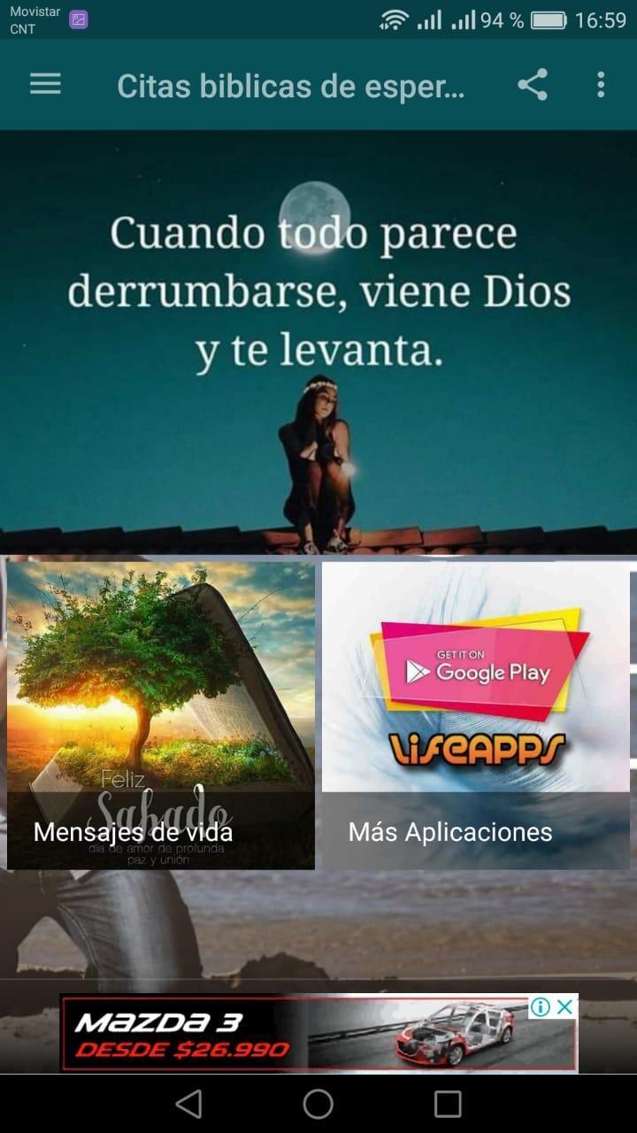 Citas Bíblicas De Esperanza For Android Apk Download