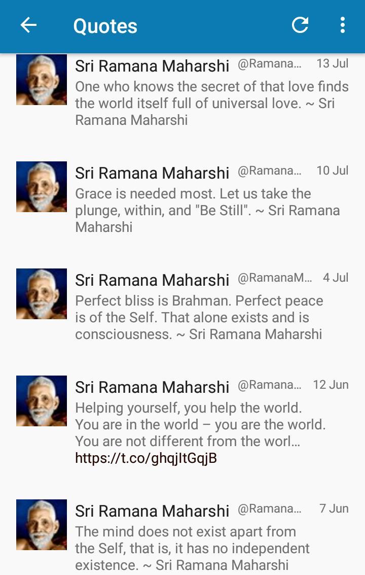 Ramana Maharshi Complete App poster