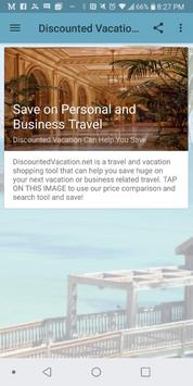 Discounted Vacations poster