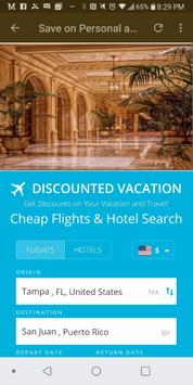 Discounted Vacations screenshot 1