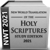 NWT of the Holy Scriptures 2021 Study Edition Zeichen