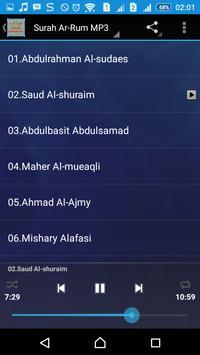 Surah Ar-Rum MP3 screenshot 8