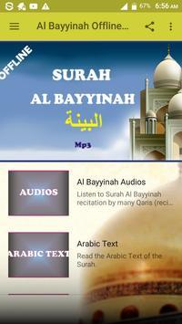 Al Bayyinah Offline Mp3 screenshot 1