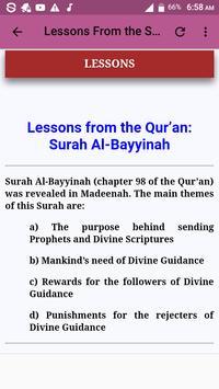 Al Bayyinah Offline Mp3 screenshot 6