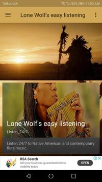 Lone Wolf's easy listening poster