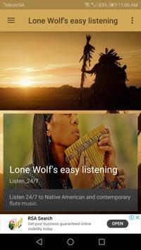 Lone Wolf's easy listening screenshot 2