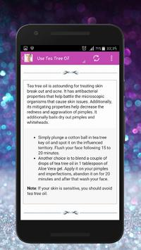 Skin Treatment - Get Rid Of Acne And Pimples Natur screenshot 3
