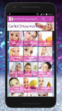 Skin Treatment - Get Rid Of Acne And Pimples Natur 포스터