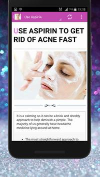 Skin Treatment - Get Rid Of Acne And Pimples Natur 스크린샷 2
