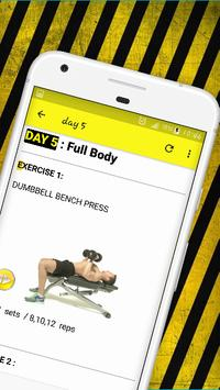 Beginner workout - Your First Month Gym Program скриншот 5