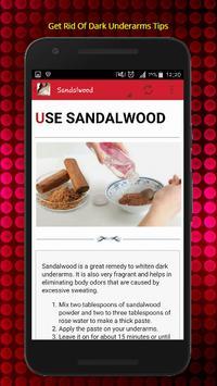Get Rid Of Dark Underarms Naturally Tips скриншот 2