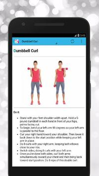 Get Rid Of Arm Fat Fast and Tone Your Arms скриншот 1