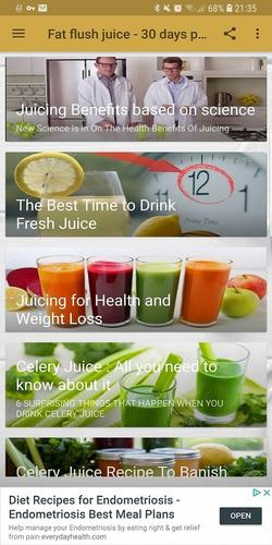fat burning juice-30 days plan for Android - APK Download