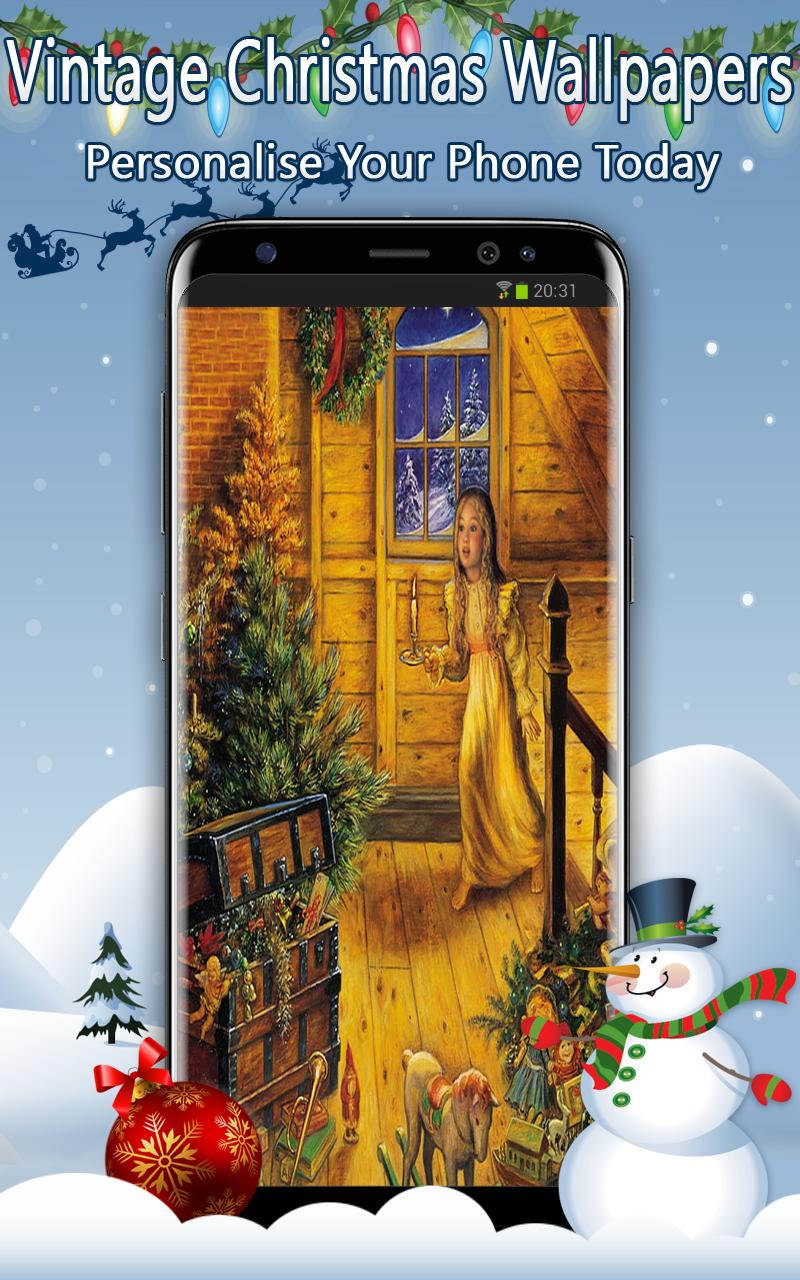 Vintage Christmas Wallpapers For Android Apk Download