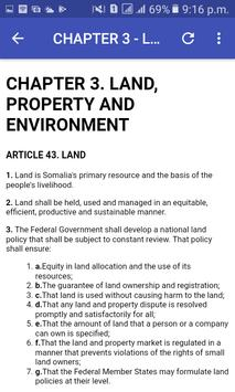 Somalia Constitution screenshot 3