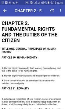 Somalia Constitution screenshot 2